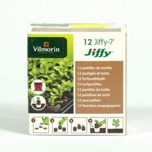 Vilmorin Jiffy krążki torfowe 12 szt.